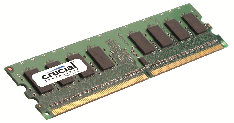 CRUCIAL MEMORY DIMM 2GB PC5300 DDR2/CT25664AA667 operatīvā atmiņa