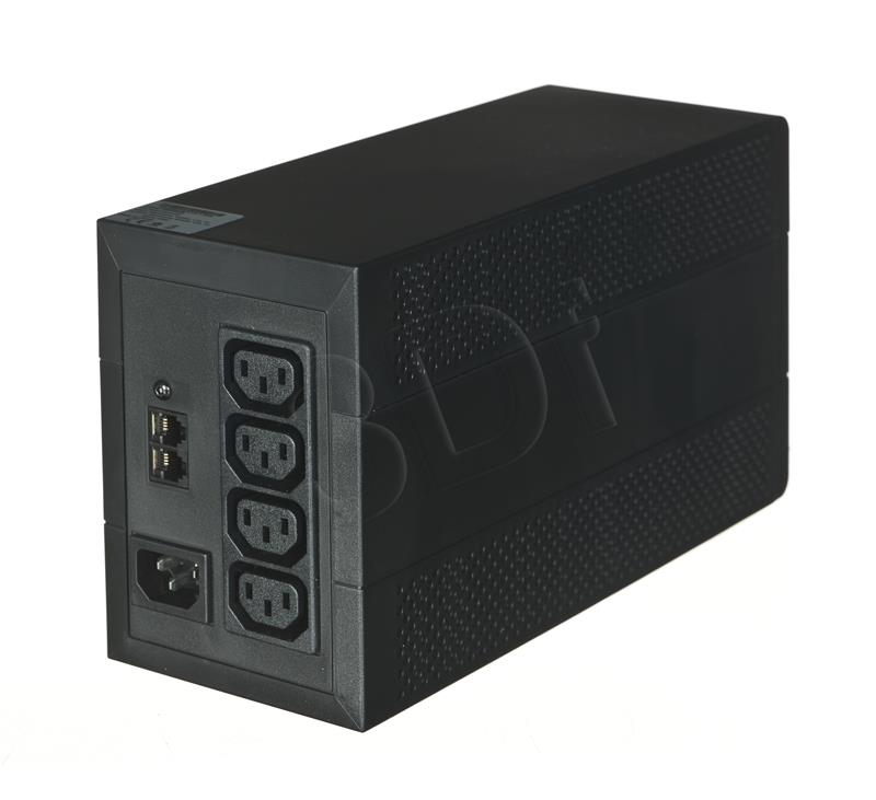 Eaton 5E 650VA/360W line-interactive, 4 IEC C13 (10A) outputs, USB nepārtrauktas barošanas avots UPS