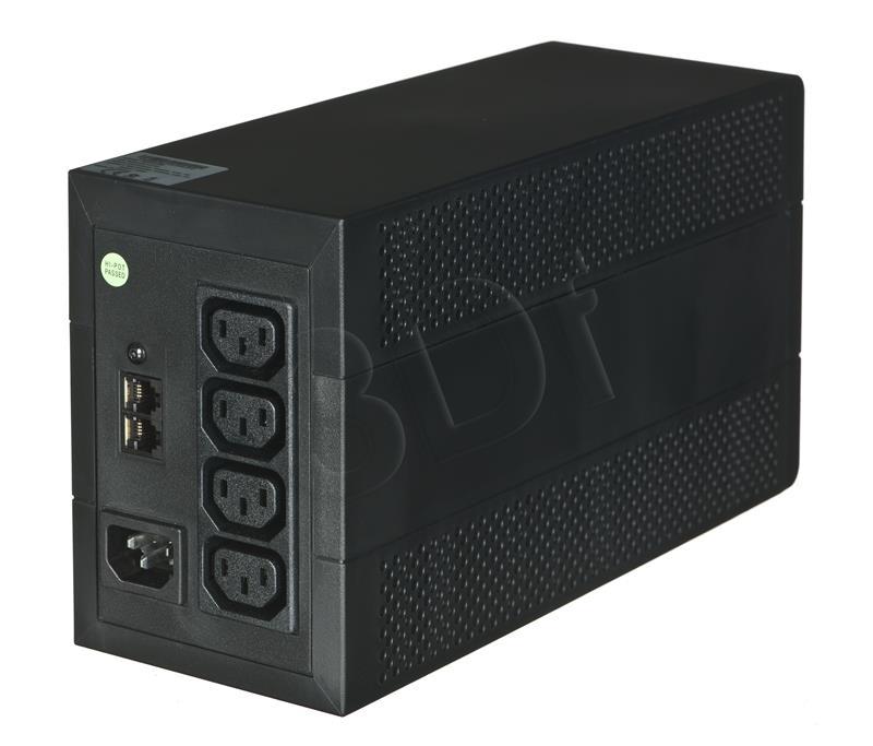 Eaton 5E 850VA/480W line-interactive, 4 IEC C13 (10A) outputs, USB nepārtrauktas barošanas avots UPS