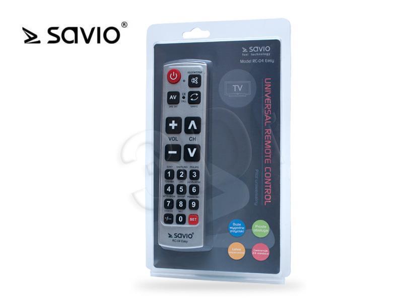 Savio RC-04 easy TV aksesuāri