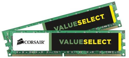 CORSAIR DDR3 1333MHz 4GB 2x2GB 240 DIMM operatīvā atmiņa