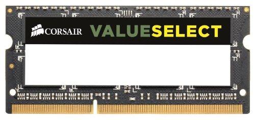 CORSAIR DDR3 1x4GB 1600Mhz Sodimm operatīvā atmiņa