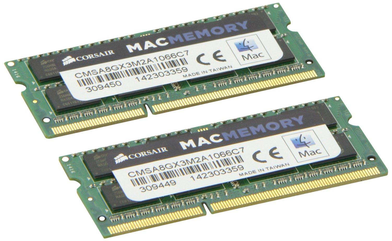 CORSAIR DDR3 8GB 1066Mhz Apple Sodimm operatīvā atmiņa