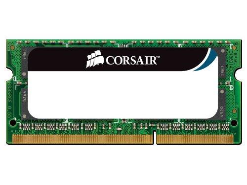 CORSAIR DDR3 1333MHz 8GB 204 SODIMM operatīvā atmiņa