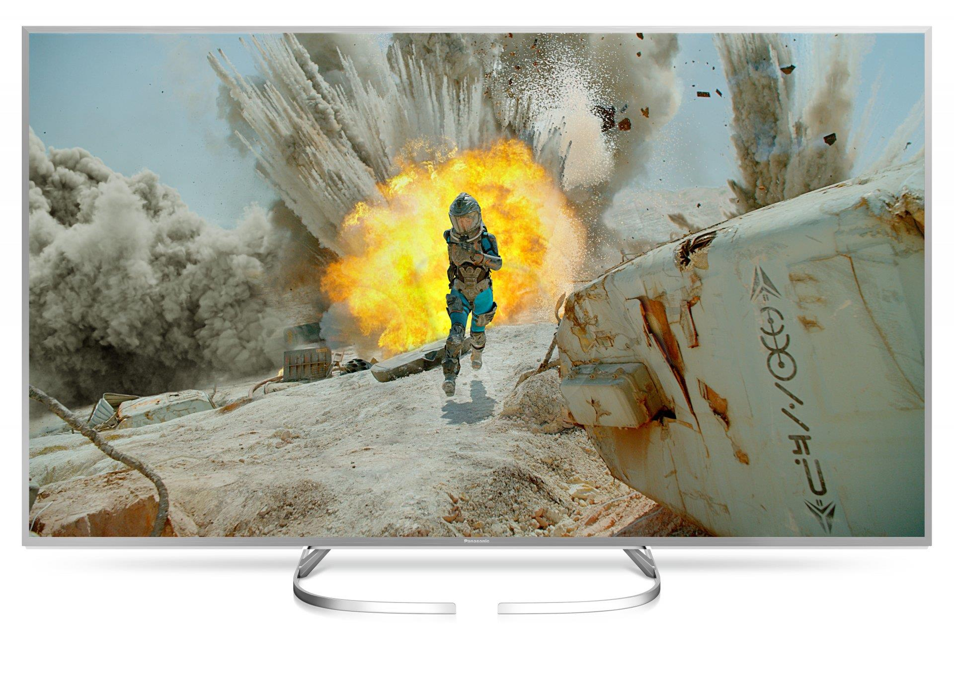"Panasonic TX-65EX700E  65"" (165 cm), Smart TV, Ultra HD LED, 3840 x 2160 pixels, DVB-T/T2/C, Silver LED Televizors"