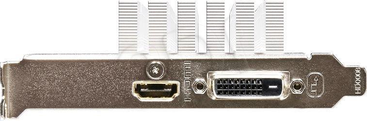 Gigabyte GeForce GT 1030 Silent Low Profile 2G, 2GB, DVI/HDMI video karte