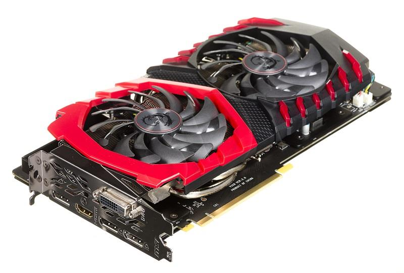 MSI GeForce GTX1060 Gaming X 6G 6GB video karte