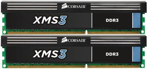 CORSAIR DDR3 1333MHz 8GB 2x4GB DIMM operatīvā atmiņa