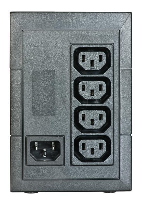 Eaton 5E 500VA/300W line-interactive, 4 IEC C13 (10A) outputs nepārtrauktas barošanas avots UPS