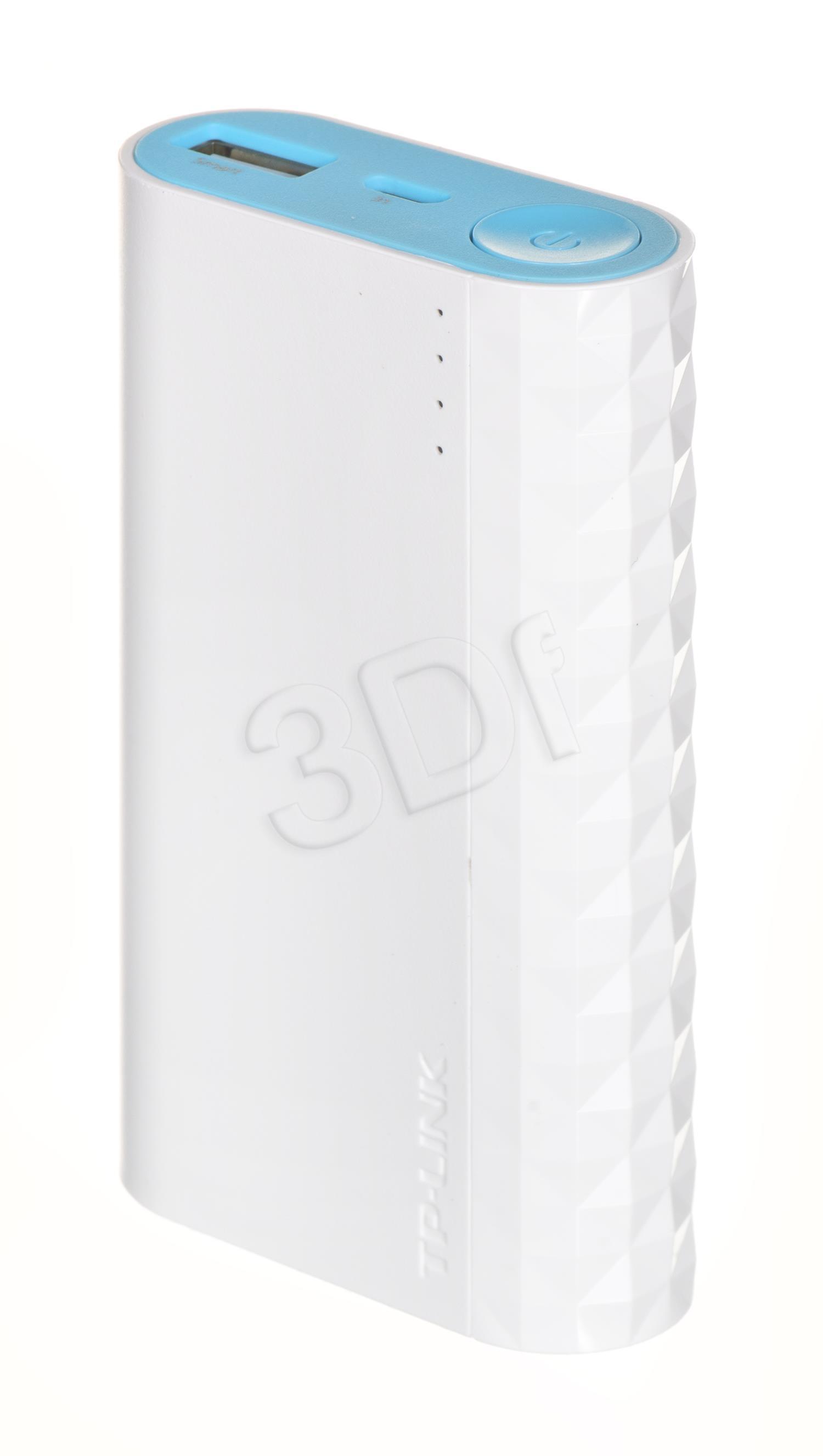 TP-Link TL-PB5200 Power Bank 5200mAh, 1 USB ports (5V/2,4A) Powerbank, mobilā uzlādes iekārta