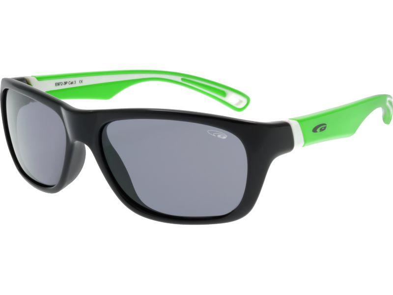 Goggle Okulary polaryzacyjne dzieciece Mika Black/Green (E972-3P) E972-3P