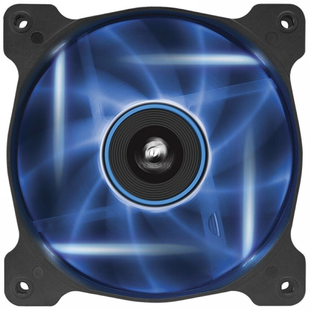 Corsair AF120 High Airflow Fan 120mm 3 pin blue LED single pack ventilators