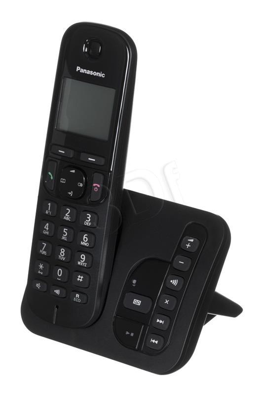 Panasonic Telefon Wireless KX-TGC220PDB Black telefons