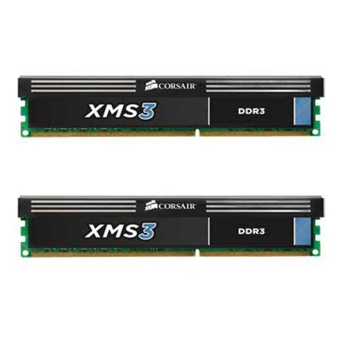 CORSAIR DDR3 1600MHz 8GB 2x4GB operatīvā atmiņa
