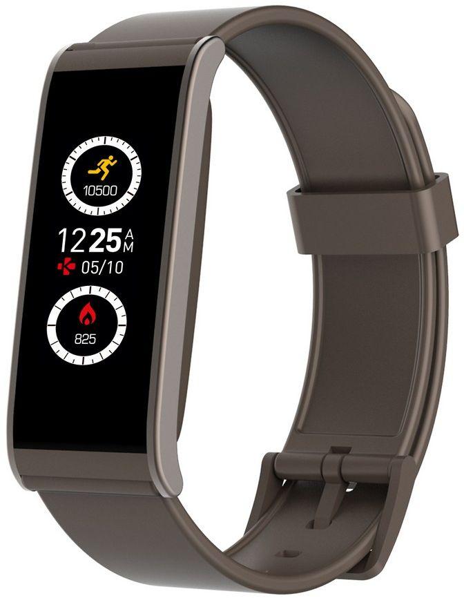 MyKronoz Smartwatch  Zefit4  Activity tracker with smart notifications, Brown, 80 mAh, Touchscreen, Bluetooth, Viedais pulkstenis, smartwatch