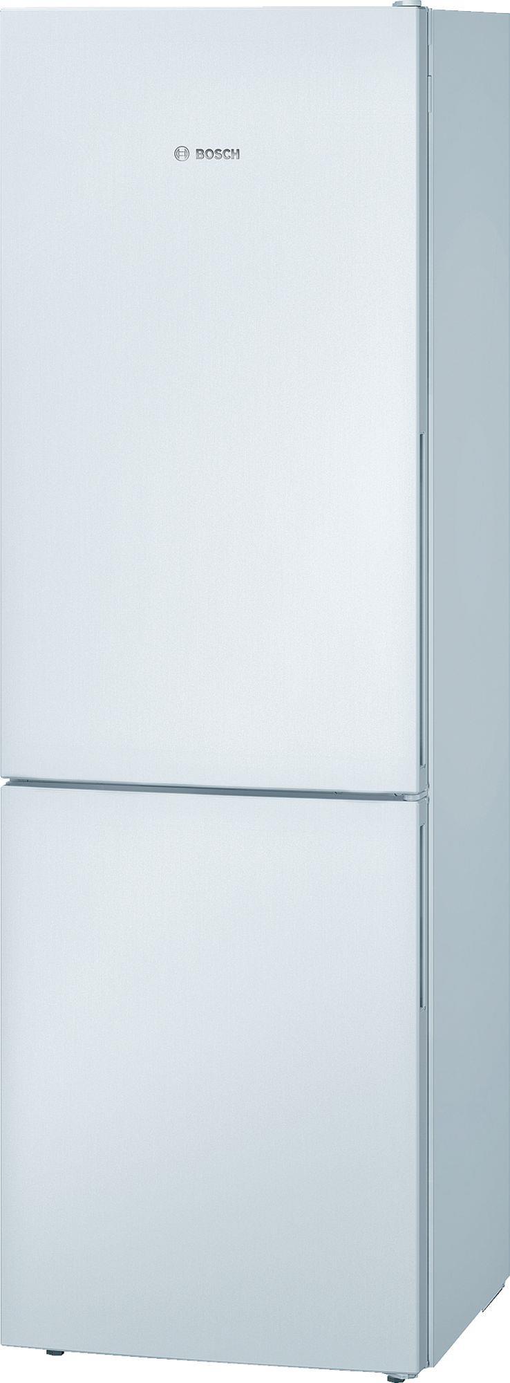 Bosch KGV36VW22 (600x1860x650mm White A+) Ledusskapis