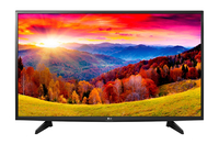 LG 43LH570V Full HD Smart TV Wi-Fi Melns LED LED Televizors