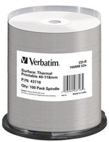 Verbatim CD-R  [700MB, 52x ,spindle 100 |THERMAL SURFACE FOR RIMAGE PRISM] matricas