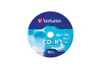 CD-R 52x 700MB 10P SP    Ex Prot Wrap 43725 matricas