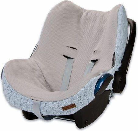 Babys Only Cable, Ochraniacz na fotelik, Baby niebieski (BSO0465520) BSO0465520 Bērnu sēdeklīšu aksesuāri