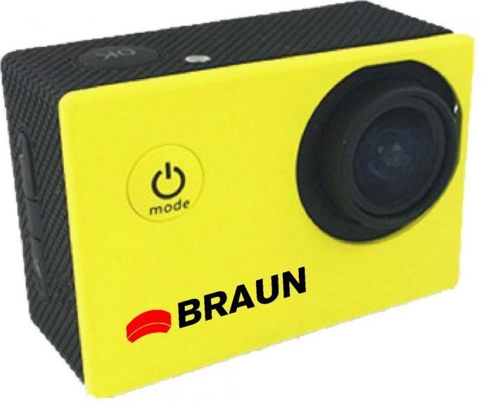 Sport Cam Braun Paxi     Young HD yellow sporta kamera