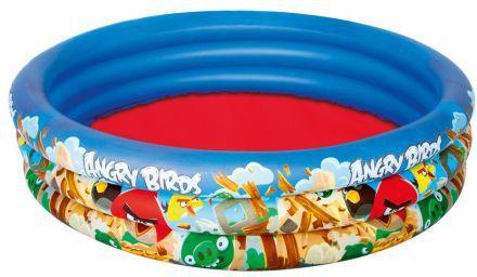 Bestway Basen dmuchany Angry Birds 152x30 cm (96108B) 96108 Baseini un piederumi