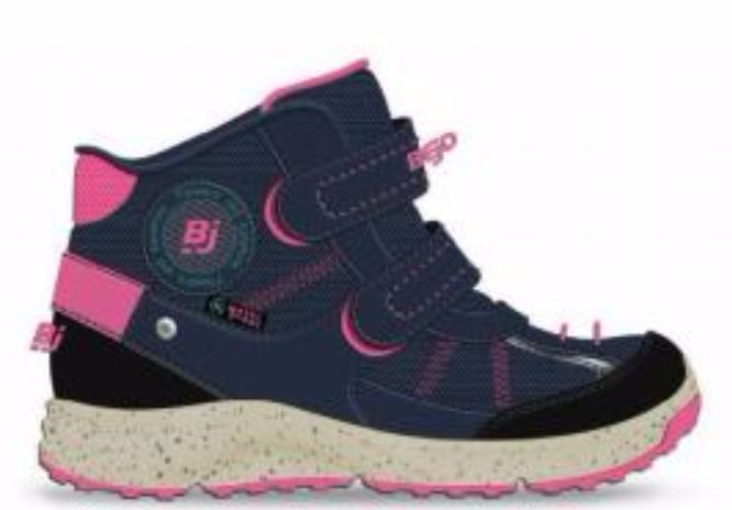 BEJO Buty Dzieciece Baiko Navy/Light Fuchsia r. 27 5902786082100