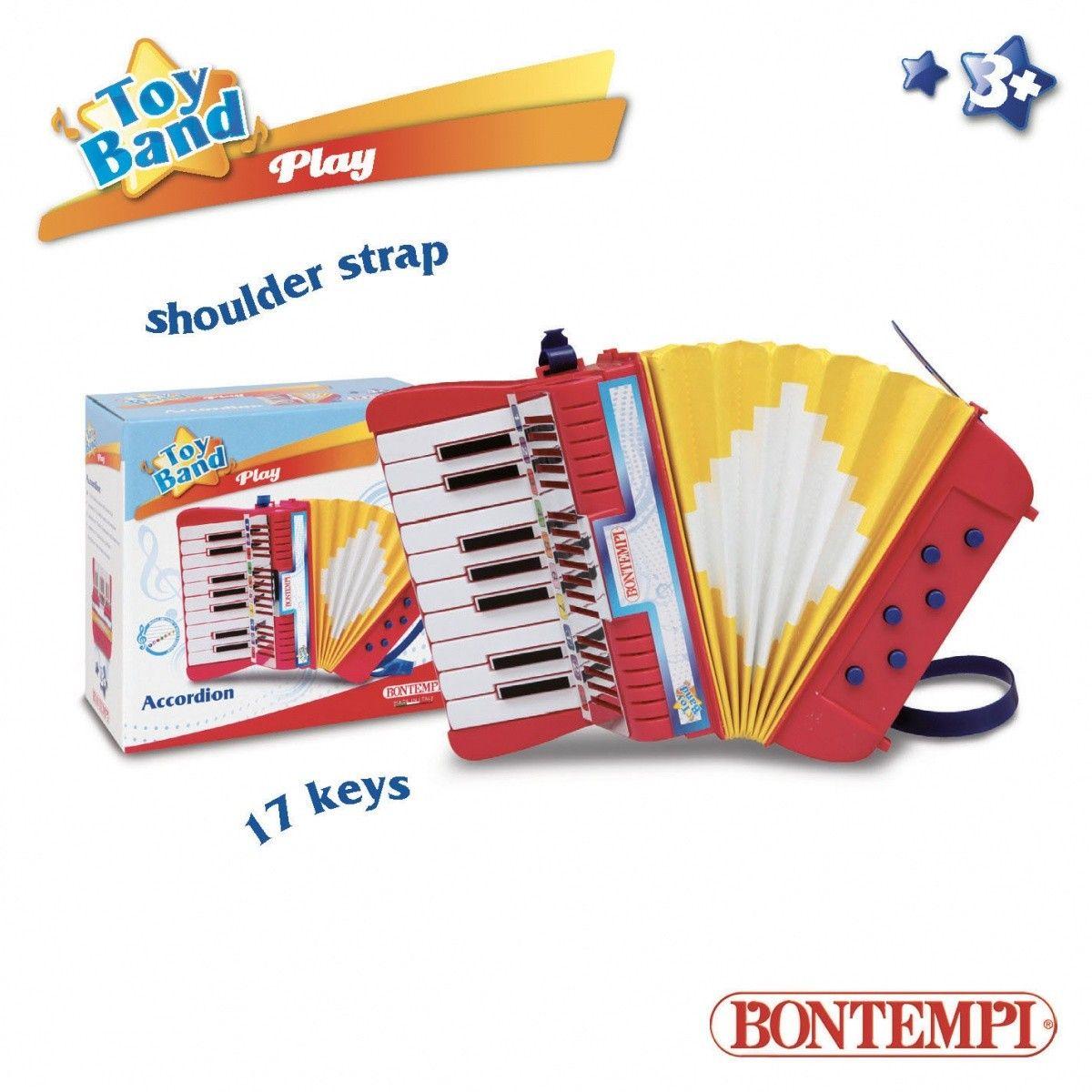 Bontempi Play - Akordeon z 17 klawiszami  (GXP-619566) GXP-619566