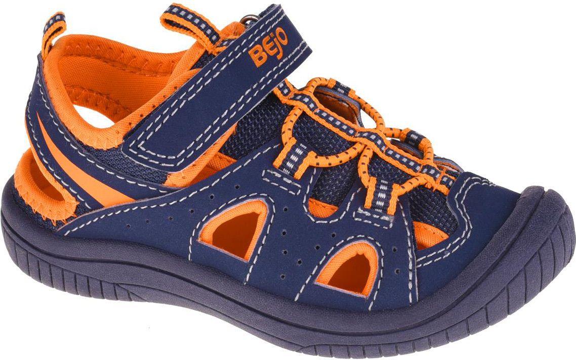 BEJO Sandaly Dzieciece Silma Kids Navy/Orange r. 26 5901979146346