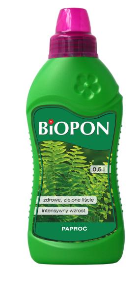 BIOPON Nawoz w plynie do paproci 0,5L (1021) B1021