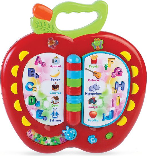Zabawka edukacyjna Jablko bērnu rotaļlieta