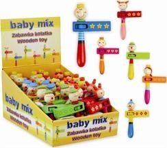 Baby Mix ZABAWKA DREWNIANA-KOLATKA (AX0690) AX0690