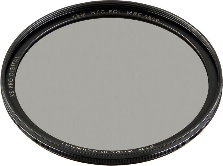 B+W XS-Pro Digital HTC Zirkularpolfilter Kasemann MRC nano 58 foto objektīvu blende