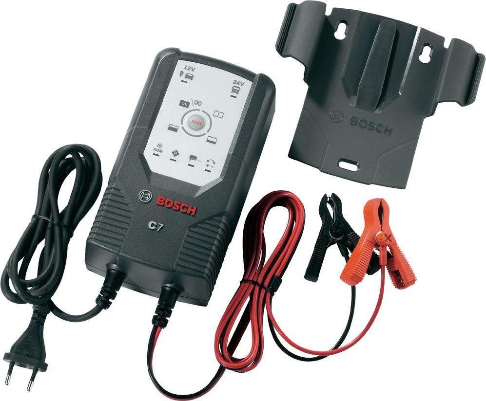 Bosch Battery Charger C7: 12-24V auto akumulatoru lādētājs