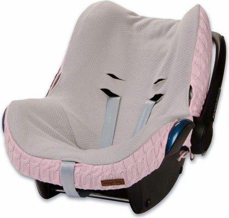 Babys Only Ochraniacz na fotelik samochodowy 0+, Rozowy (BSO0465521) BSO0465521 Bērnu sēdeklīšu aksesuāri