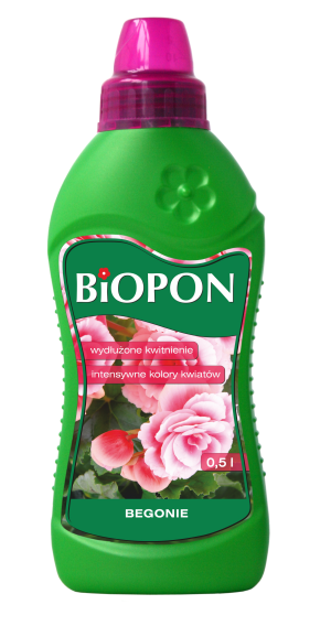 BIOPON Nawoz w plynie do pelargonii 0,5L (1019) B1019