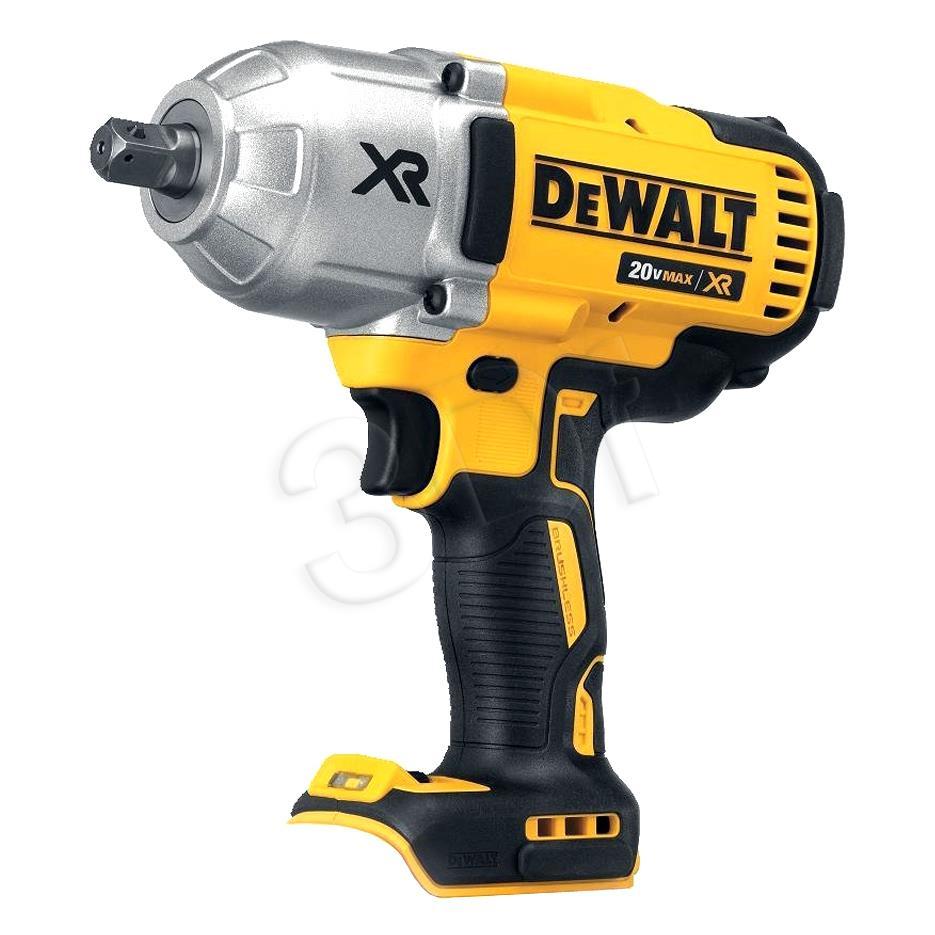 Dewalt DCF899N-XJ Li-Ion XR Cordless Impact Wrench, 18 V, Yellow/Black (bez akumulatora un lādētāja)