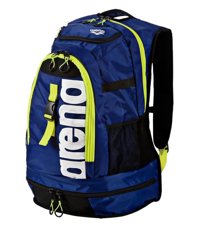 Rucksack Arena Fastpack 2.1 (45 litres; 550 mm x 400 mm x 350 mm; 3 compartments / 3 pockets; Nylon, Polyester; blue color) Tūrisma Mugursomas