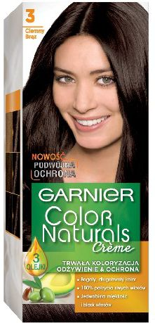 Garnier Color Naturals Krem koloryzujacy nr 3 Ciemny Braz 0305391