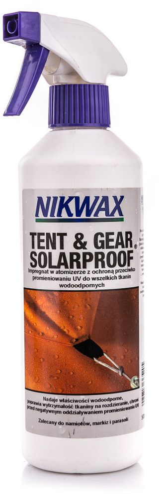 Nikwax Impregnation for tents and equipment Tent & Gear SolarProof 500ml Nikwax uniw - 5020716365205