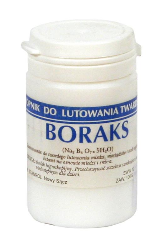 Borax for soldering with hard 0.5 kg brass solders BOR 500 Instrumentu apstrādei