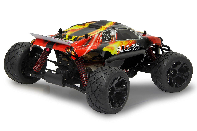 Jamara Vulcano 1:10 EP 4WD LED Lipo 2,4G, RC Radiovadāmā rotaļlieta