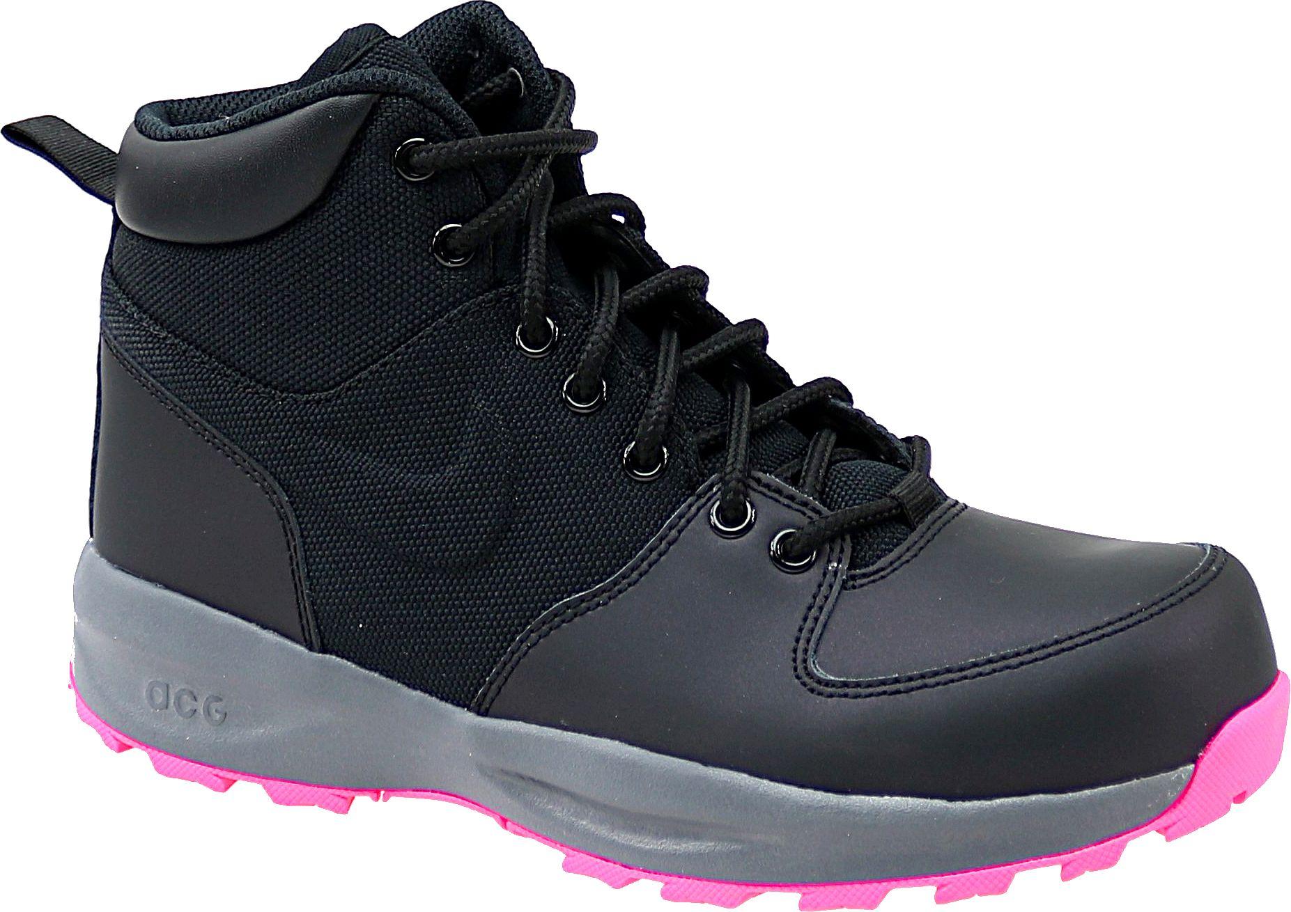 Nike Buty dziewczece Manoa Lth GS czarne r. 36.5 (859412-006) 859412-006
