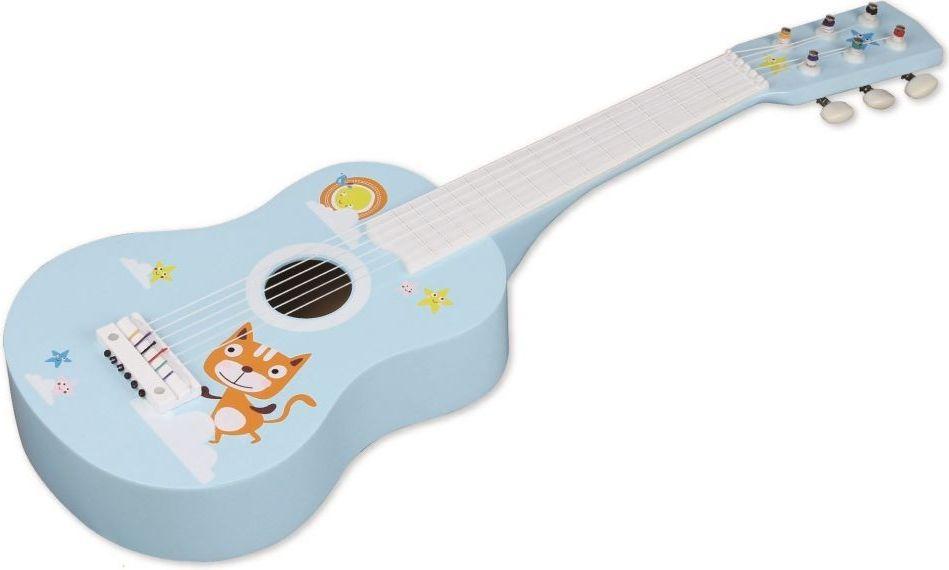 Nefere Gitara drewniana z kotkiem N4020