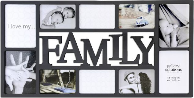 Ramka Nielsen Design Family Collage black  (8999332) Foto rāmītis