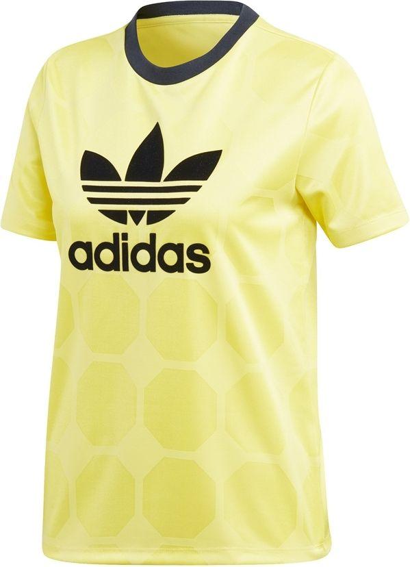 Adidas Koszulka damska Fashion League Jaguard Slim zolta r. 34 (CE3716) CE3716