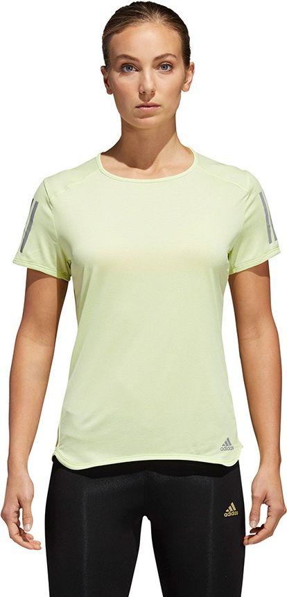 Adidas Koszulka damska Response Tee zolta r. L (CF2139) STECH-CF2139*L