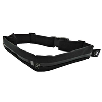 Qoltec Universal sports belt for smartphone/key | double | black soma foto, video aksesuāriem