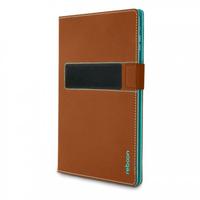 reboon booncover Tablet Tasche Grose M2 braun planšetdatora soma