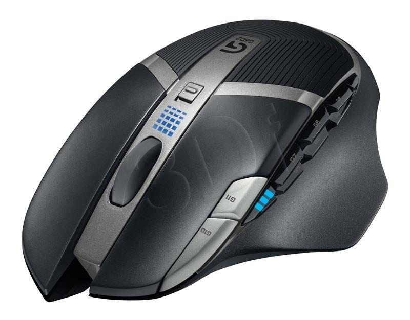 Logitech G602 Wireless Gaming Mouse Datora pele